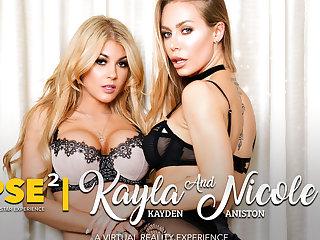 Kayla Kayden  Nicole Aniston  Ryan Driller in NaughtyAmericaVR