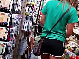 athletic teen shorts,ass,feet
