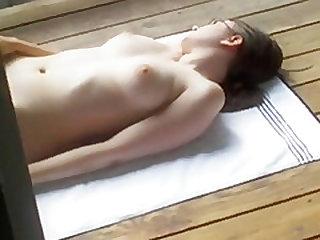 Sylvia caught naked