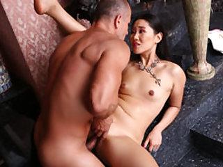 Katana in Young Skinny Asian Pleasure - HarmonyVision